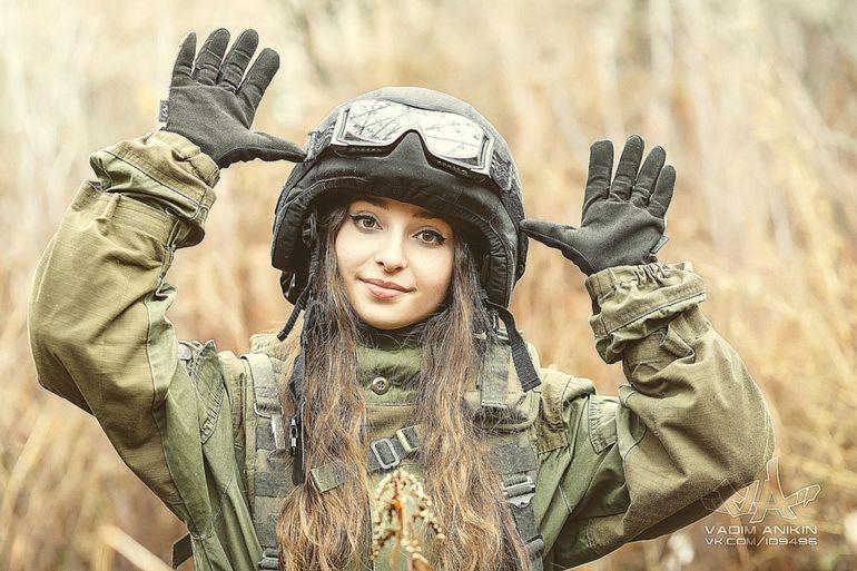 Военные телки