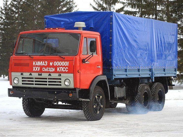 Первые камазы с конвейера фольксваген транспортер грузовой купить