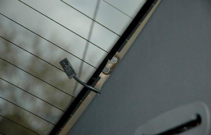 фото нити обогрева заднего стекла