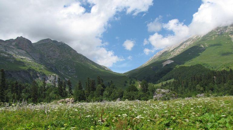 Какие горы видны из окна Краснодара? ч.2. Пшеха-Су.