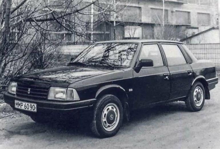 Самый редкий и необычный автомобиль завода АЗЛК, Москвич 2142