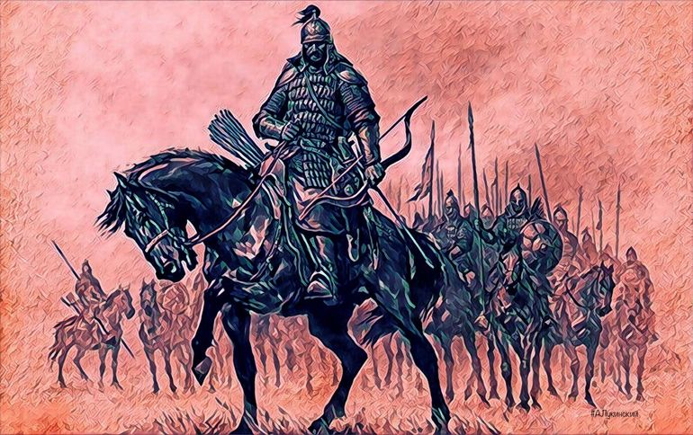 Последние победы Казанского ханства. Татары опустошают Север России
