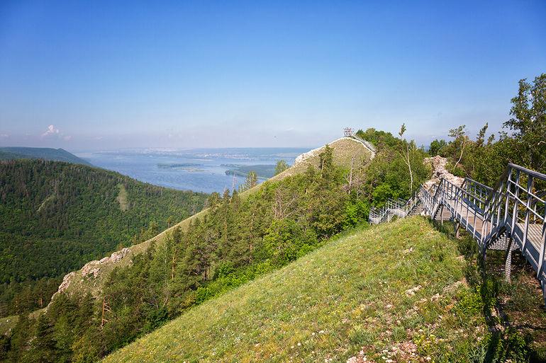 Жигули - Волжская Швейцария с разбойничьим прошлым