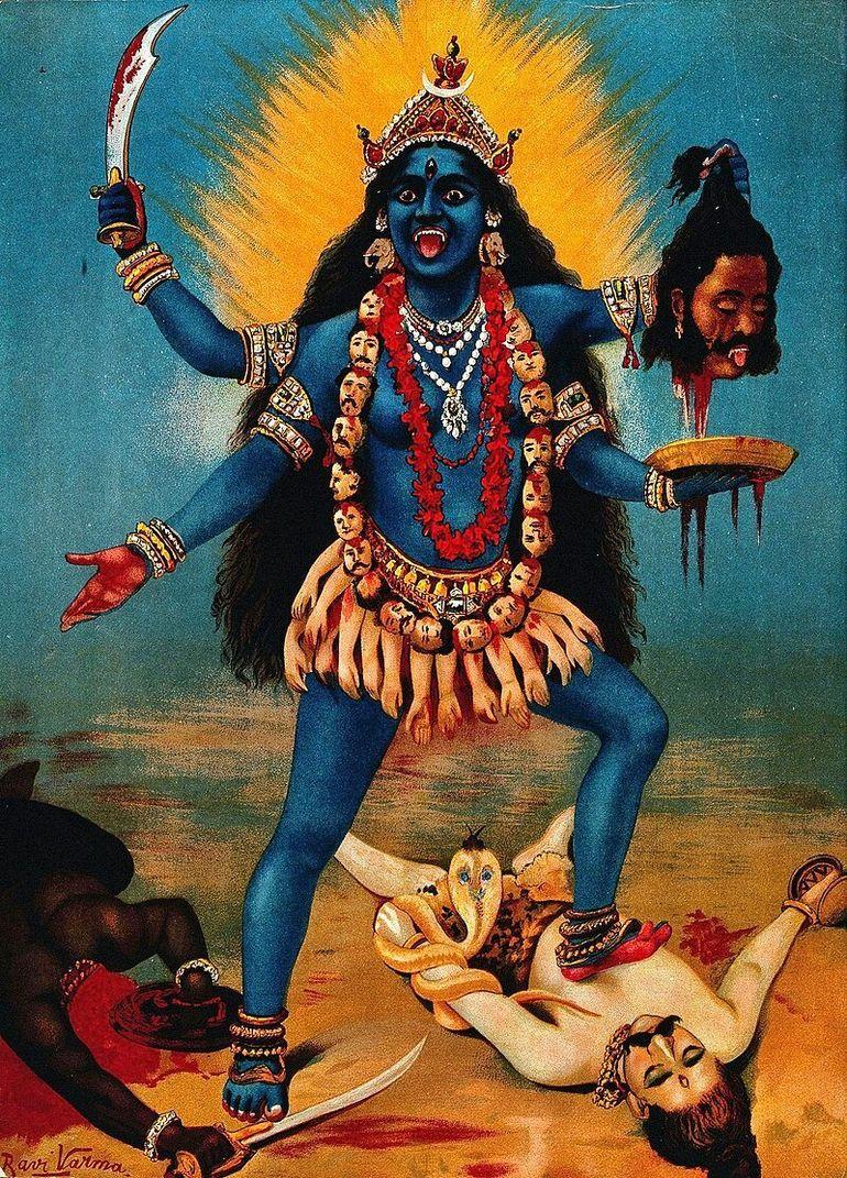 Шесть фактов о Кали - богине времени и разрушения
