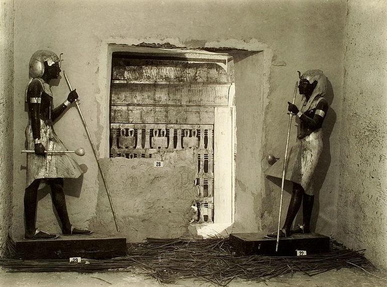 Как нашли гробницу Тутанхамона