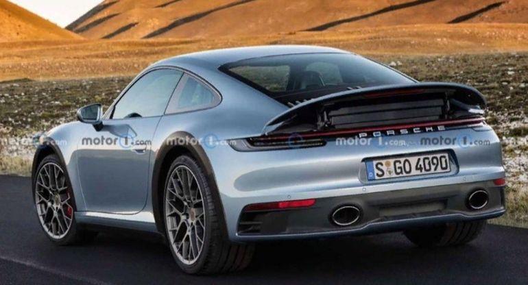 Появился неофициальный рендер раллийного Porsche 911 Safari