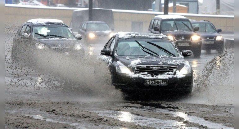 Калининградская оттепель представляет опасность для автомобилей