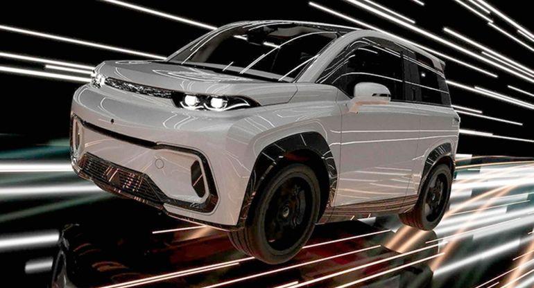 Российский электромобиль «Ардерия ТС-2» показали в зимнем тесте