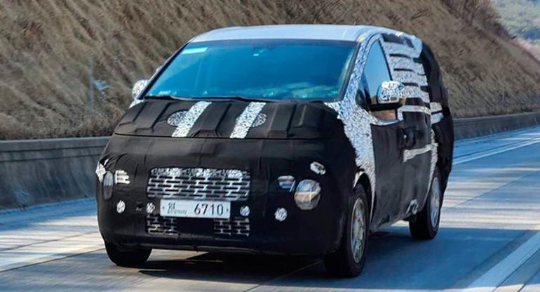 Новые Hyundai iLoad и iMax замечены во время тестов