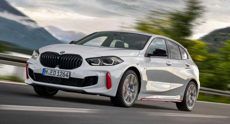 Ускорение BMW 128ti с передним приводом показали на видео