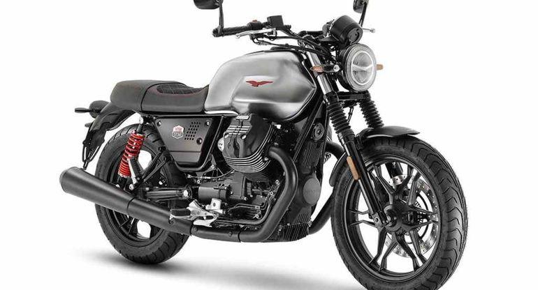 Итальянская фирма Moto Guzzi обновила свой популярный мотоцикл V7