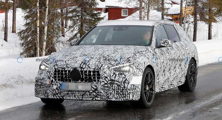 Mercedes-AMG C63 получит полный привод и 550 л.с. мощности