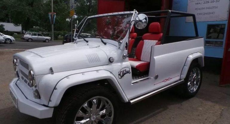 Представлен свадебно-туристический УАЗ от ростовского специалиста