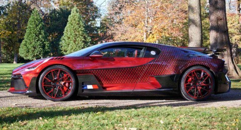 2 года было потрачено на разработку эксклюзивного Bugatti Divo «Lady Bug»