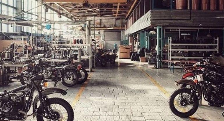 Так сегодня выглядит мотоциклетный завод «УРАЛ» изнутри