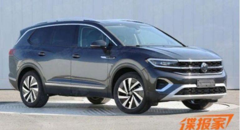 Volkswagen представит в апреле новый большой кроссовер Talagon