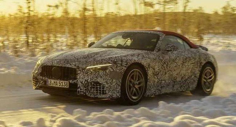 Новый Mercedes-AMG SL-Class получит полный привод