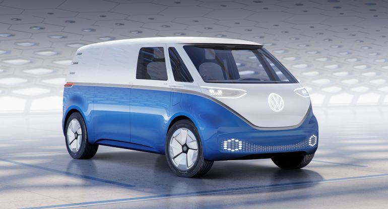 Volkswagen ID. BUZZ призван стать первым беспилотным автомобилем компании