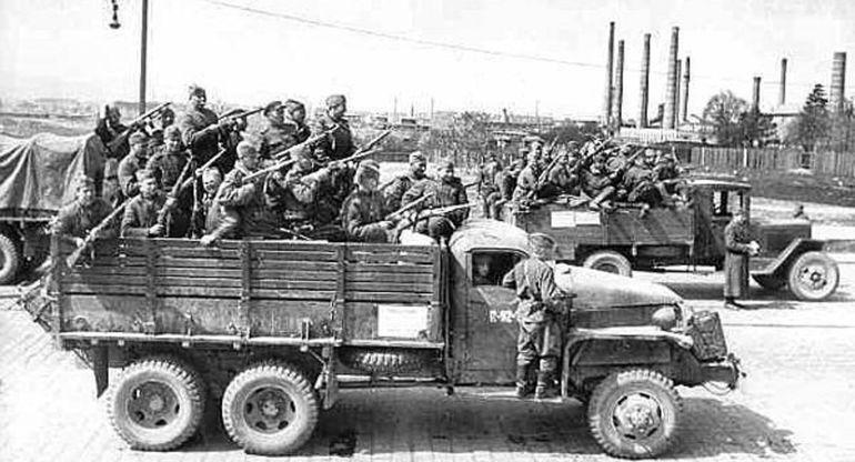 Американский грузовик, ставший боевым товарищем советских военных