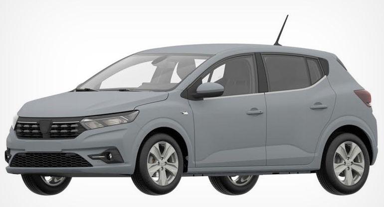 Новый Dacia Sandero засветился в базе Роспатента