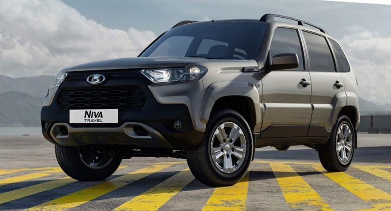 АвтоВАЗ отметил ажиотажный спрос на внедорожник Lada Niva Travel