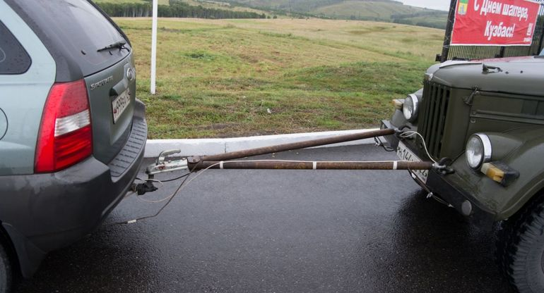Буксировка транспортного средства — правила и частые вопросы