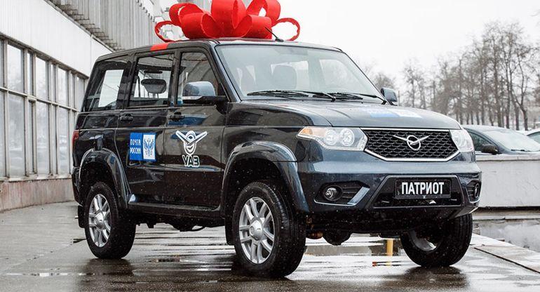 УАЗ «Патриот» получит модификацию для «Почты России»