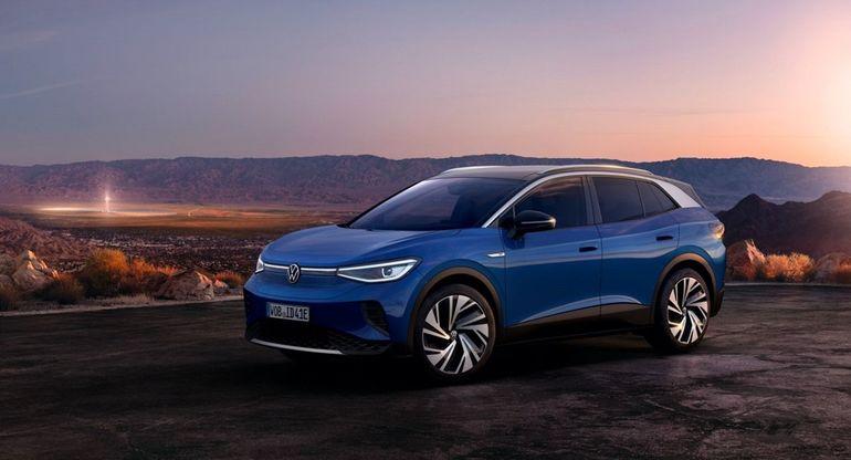 Volkswagen представил на тизере спортивную версию электрокара ID.4 GTX