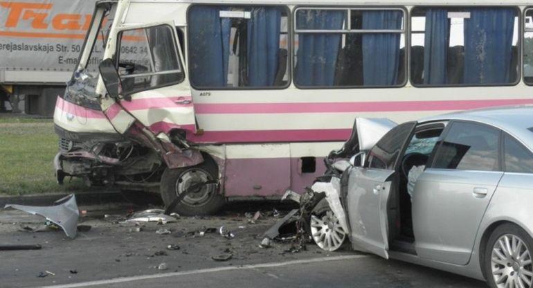 Дорожно-транспортное происшествие с автобусом — предусмотрены ли выплаты