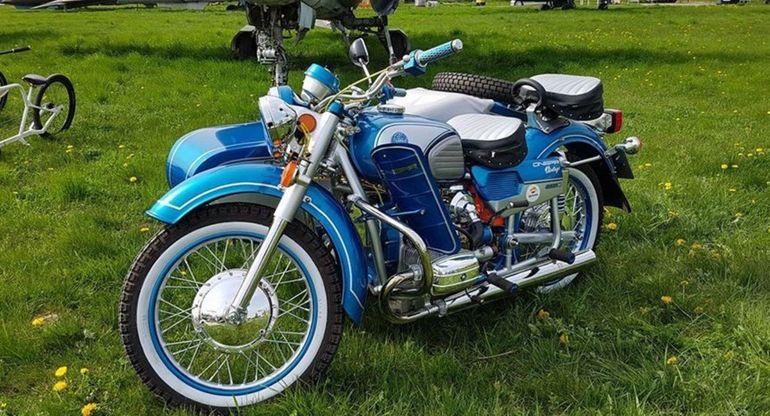 Самый быстрый и тяжелый советский мотоцикл