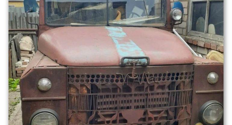 Самодельный мини-КрАЗ с тракторным двигателем