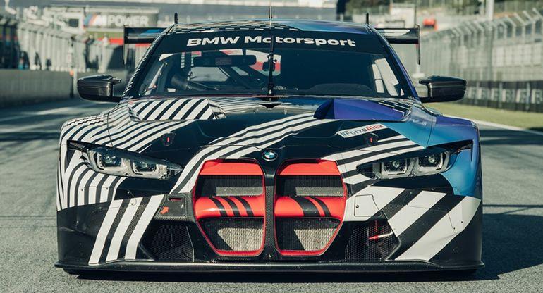Седан BMW M4 GT3 успешно завершил испытания на Нюрбургринге