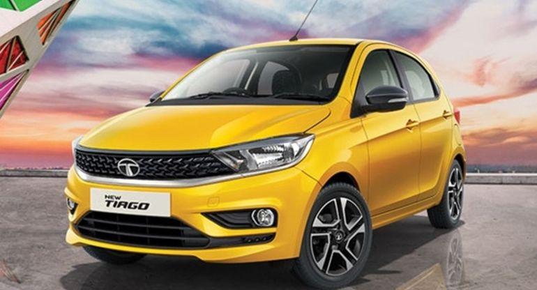Tata Motors прекратила выпуск хэтчбека Tiago в его лучшем цвете Tiago, хэтчбека, производителя, оттенок, Victory, модель, бренд, одним, включая, компания, Motors, класса, Машина, лимитированную, среднего, отделкой, получила, дополнительных, серию, Индийская