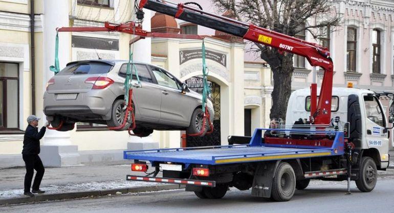 В каких случаях эвакуация транспортного средства не предусматривается