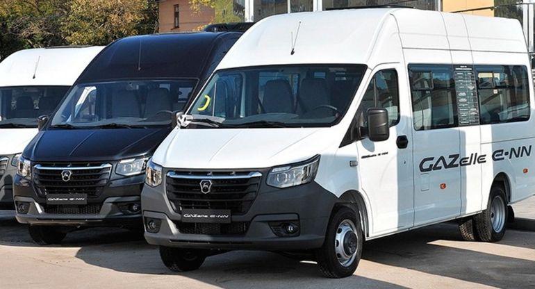 ГАЗ представил предсерийную версию коммерческого электромобиля GAZelle-NN