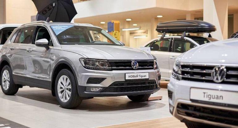 Volkswagen переписал прайс для большинства моделей в России в мае текущего года