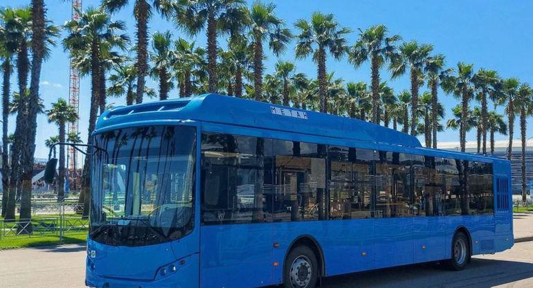 Газовые автобусы Volgabus тестируют в Сочи