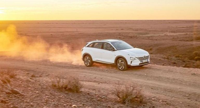 Автомобиль Hyundai на топливных водородных элементах смог проехать 888 км без дозаправки