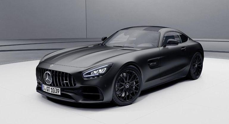 Mercedes-AMG GT Coupe в лимитированной версии Night Edition отправляется в Австралию