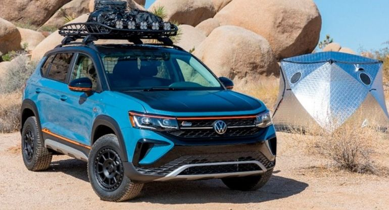 Новый кроссовер Volkswagen Taos получил внедорожную версию Basecamp