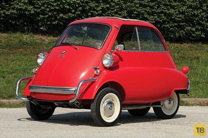 """Машина или тележка? """"bmw Isetta 300"""""""