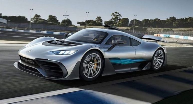 Инженеры продемонстрировали рев мотора Mercedes-AMG One