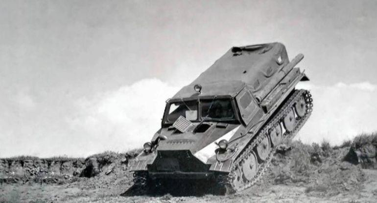 С-21 — советский вездеход, покоряющий малоизученные районы СССР