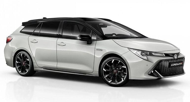 Toyota готовит спортивную версию гибридной Corolla Touring Sports GR Sport