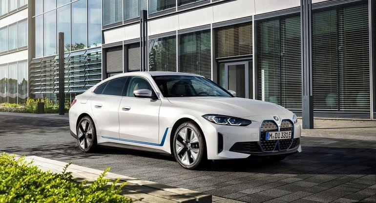 BMW продемонстрировал электрокар i4 eDrive 40