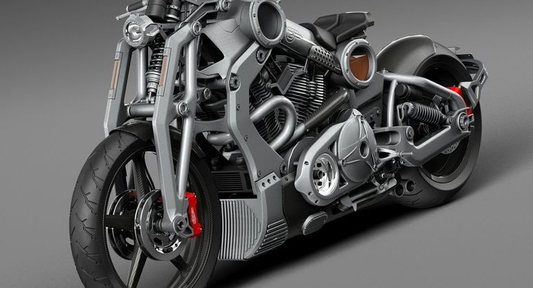 Confederate представил в России дорогие люксовые мотоциклы