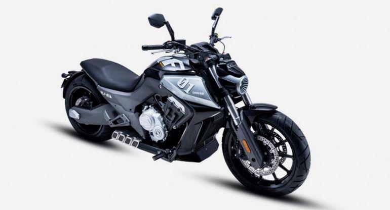 Необычный китайский мотоцикл Benda LFC 700 будет продаваться в Европе
