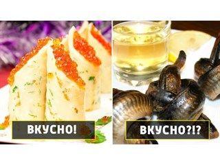 Какие русские блюда не нравятся иностранцам, и какие чужеземные не прижились в России