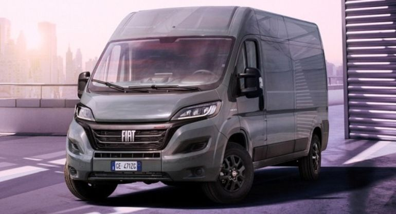 Fiat обновил свой фургон Ducato