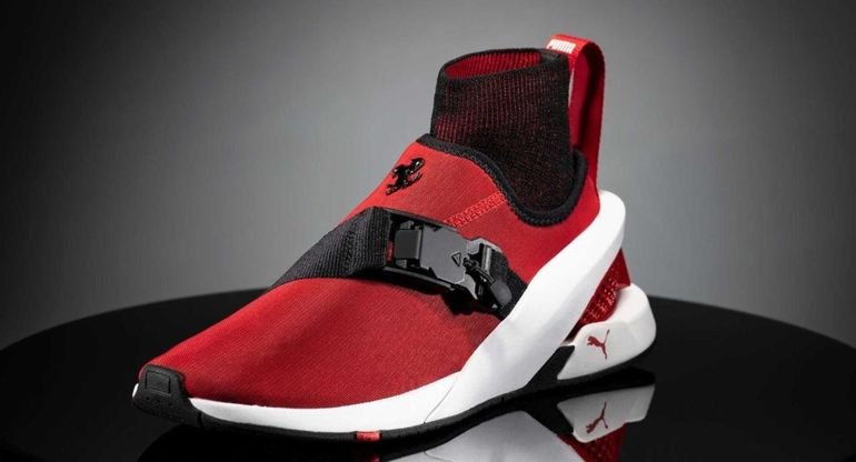 Puma представил новые кроссовки в стиле Ferrari